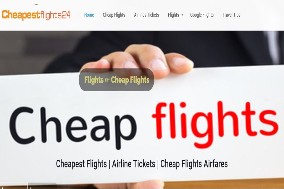Cheapest Flights 24 Cheap Flight Search Review